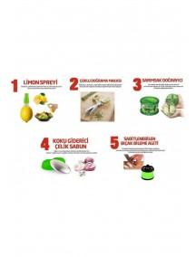 5 Parça Pratik Mutfak Seti (KAMPANYALI FİYAT)