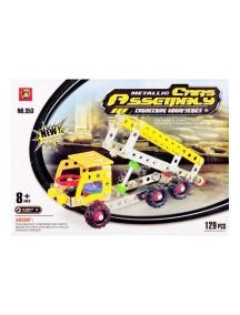 129 Parça Metal Lego Kamyon - V43