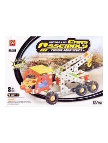 127 Parça Metal Lego Çekici Vinç - V45